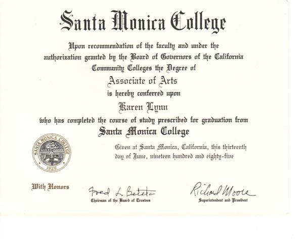 santa monica college application essay