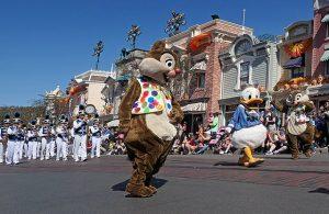 Image of parade at Disneyland